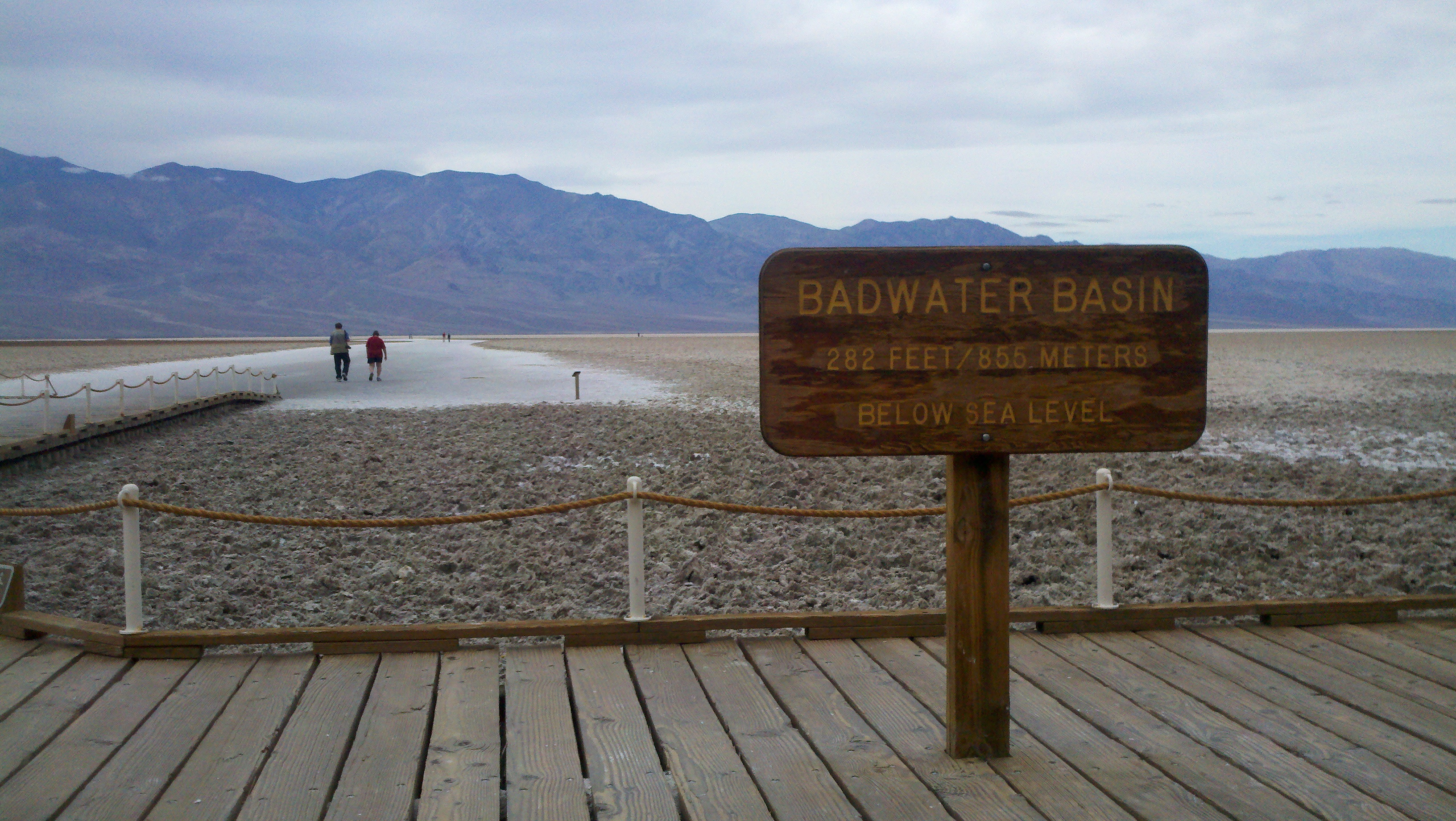 Lowest Point in North America